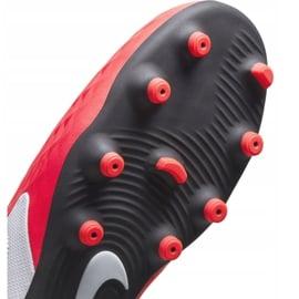 Buty piłkarskie Nike Tiempo Legend 8 Club FG/MG Jr AT5881-606 czerwone czerwone 6