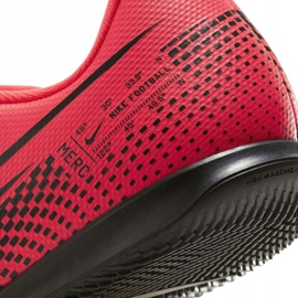 Buty halowe Nike Mercurial Vapor 13 Club Ic Jr AT8169-606 czerwone czerwony 2