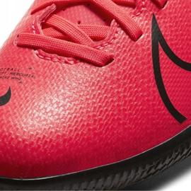 Buty halowe Nike Mercurial Vapor 13 Club Ic Jr AT8169-606 czerwone czerwony 3