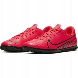 Buty halowe Nike Mercurial Vapor 13 Club Ic Jr AT8169-606 czerwone czerwony 5