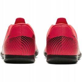 Buty halowe Nike Mercurial Vapor 13 Club Ic Jr AT8169-606 czerwone czerwony 7