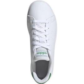 Buty adidas Advantage K Jr EF0213 białe 2