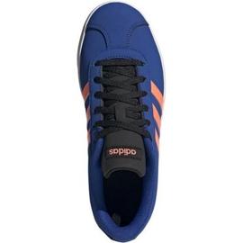 Buty adidas Vl Court 2.0 K Jr EG2003 niebieskie 1