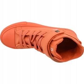 Buty Big Star Shoes W FF274583 pomarańczowe 2