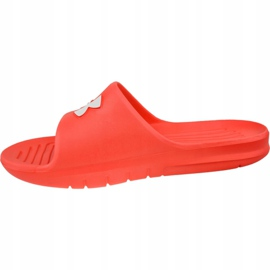 Klapki Under Armour Core Pth Slides 3021286-600 czerwone 1