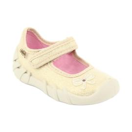 Befado obuwie dziecięce 109P152 żółte 3