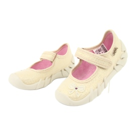 Befado obuwie dziecięce 109P152 żółte 5