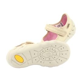 Befado obuwie dziecięce 109P152 żółte 7