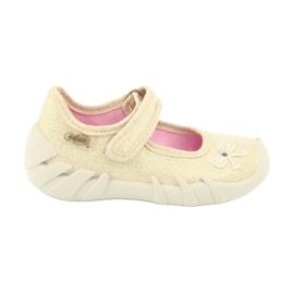 Befado obuwie dziecięce 109P152 żółte 2