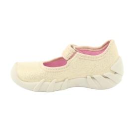 Befado obuwie dziecięce 109P152 żółte 4