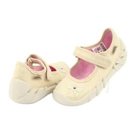 Befado obuwie dziecięce 109P152 żółte 6