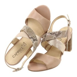 Caprice sandały damskie 28312 5