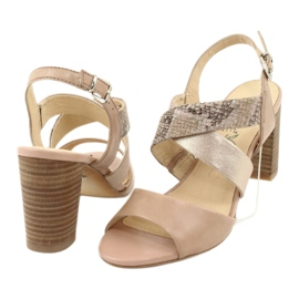 Caprice sandały damskie 28312 4