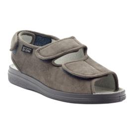 Befado obuwie męskie pu 733M006 szare 2