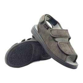 Befado obuwie męskie pu 733M006 szare 4