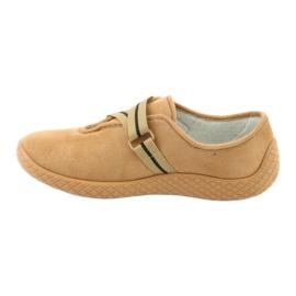 Befado obuwie damskie pu--young 434D017 beżowy 3
