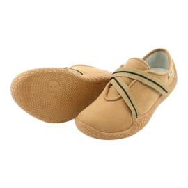 Befado obuwie damskie pu--young 434D017 beżowy 5