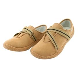 Befado obuwie damskie pu--young 434D017 beżowy 4