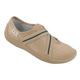 Befado obuwie damskie pu--young 434D017 beżowy 1