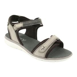 Wygodne Sandały Sportowe Caprice 28606 brązowe 1