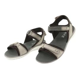 Wygodne Sandały Sportowe Caprice 28606 brązowe 3