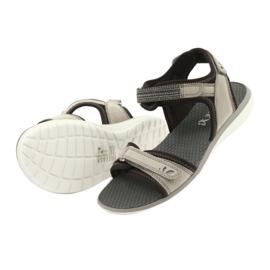 Wygodne Sandały Sportowe Caprice 28606 brązowe 5