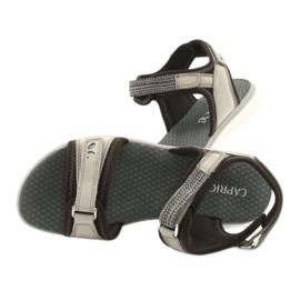 Wygodne Sandały Sportowe Caprice 28606 brązowe 6