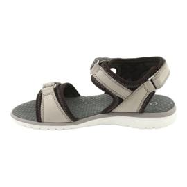 Wygodne Sandały Sportowe Caprice 28606 brązowe 2