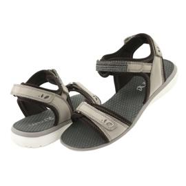 Wygodne Sandały Sportowe Caprice 28606 brązowe 4