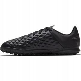 Buty piłkarskie Nike Tiempo Legend 8 Club Tf Jr AT5883-010 czarne czarne 2