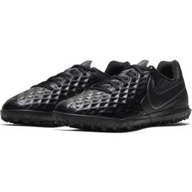 Buty piłkarskie Nike Tiempo Legend 8 Club Tf Jr AT5883-010 czarne czarne 3