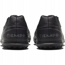 Buty piłkarskie Nike Tiempo Legend 8 Club Tf Jr AT5883-010 czarne czarne 4