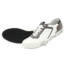 Buty sportowe Badura 3361 białe czarne szare 1