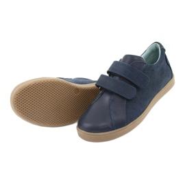 Buty chłopięce na rzepy Mazurek 1235 granatowe 5