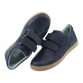 Buty chłopięce na rzepy Mazurek 1235 granatowe 6