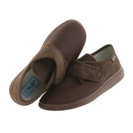 Befado obuwie męskie  pu 131M005 brązowe 4