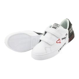 Trampki sportowe biało-czarne American Club ES05 5