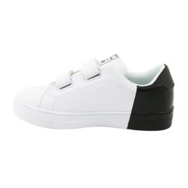 Trampki sportowe biało-czarne American Club ES05 2
