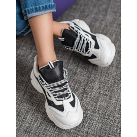 SHELOVET Sneakersy Na Platformie 3