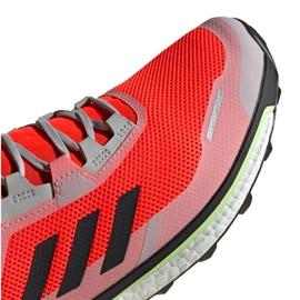 Buty adidas Terrex Agravic Flow Gtx M EG5928 pomarańczowe 3
