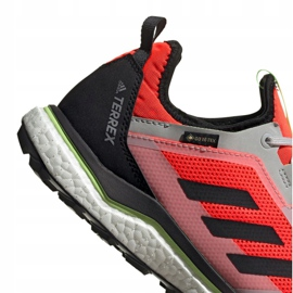 Buty adidas Terrex Agravic Flow Gtx M EG5928 pomarańczowe 5