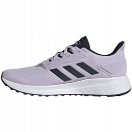 Buty biegowe adidas Duramo 9 W EG2939 fioletowe 2