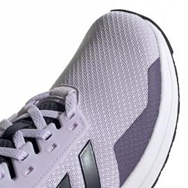 Buty biegowe adidas Duramo 9 W EG2939 fioletowe 3