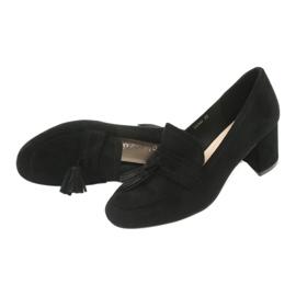 Buty na słupku Sergio Leone PB147 czarne 5
