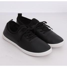 Tenisówki damskie czarne W9782 Black 4