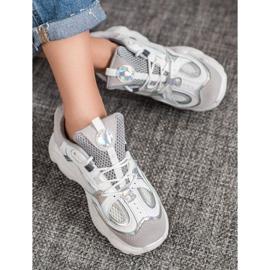 SHELOVET Sneakersy Z Siateczką 5