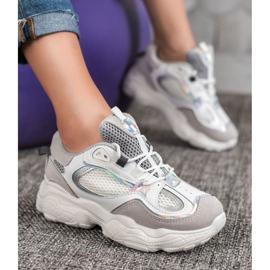 SHELOVET Sneakersy Z Siateczką 4