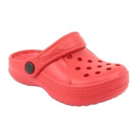 Befado inne obuwie dziecięce - czerwony 159Y005 czerwone 3