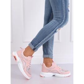 Buty sportowe różowe BO-557 Pink 1