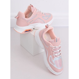 Buty sportowe różowe BO-557 Pink 4
